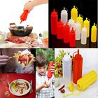 8-32OZ Plastic Squeeze Bottle Condiment Dispenser Ketchup Mustard Sauce Vinegar