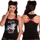 Hell Bunny Carousel Vest Tank Top Pony Horse Merry Go Round Pinup