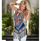 Sexy Women Summer Classic Sleeveless Party Ball Evening Cocktail Beach Dress New