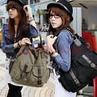 Unisex Vintage Canvas Purse Handbag Messenger Satchel Casual Shoulder Bag