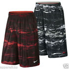 Nike Men's LeBron Ultimate Elite Basketball Shorts Bottoms Black Red White