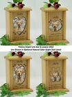 Wood Pet Urns - Dog Urns & Cat Urns - Heart,  Oval & Pawprint Photo Pet Urn