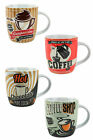 Retro Coffee Shop Mug, Classic Vintage Tea or Coffee Cup