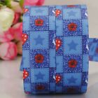 "7/8""22mm jeans rose pattern printed grosgrain ribbon USA Independent day"