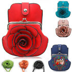 Women's Small Cross Body Flower Round Circle Cute Bags Fashion  Purse Handbag