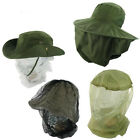Highlander Anti Midge/Mosquito Mozzie Head Hat Nets - Small to XL