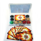 XMAS Gift Bakugan Battle Brawlers Case With 9 Different Boy Bakugans Cards New