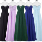 ST Wedding Long Gown Evening Senior Prom Party Dress Bridesmaids Cocktail Sexy