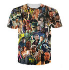 Newest Fashion Women/Mens Breaking Bad Collage Funny 3D Print Casual T-Shirt