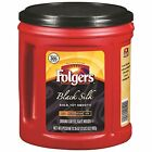 Folgers Coffee Delivered 48 oz Classic or Custom, 35 oz Black Silk or Columbian