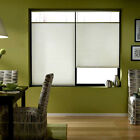 First Rate Blinds Cool White 24 to 24.5-inch Wide Cordless Top Down Bottom Up Ce