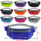 Running Hiking Sport Bum Bags Travel Money Phone Fanny Pack Waist Belt Zip Pouch