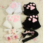 Lovely Flutty Cat Maid Cosplay Anime Costume Plush Gloves Paw Ear Tail Tie Party