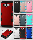 For Samsung Galaxy Grand Prime Tuff Trooper HYBRID TPU Case Skin Phone Cover