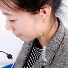Anti-Radiation Headphone Air Tube Mono Stereo Headset Earphone For Smart Phone
