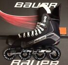 Bauer X300R Inline Roller Hockey Skates Junior and Senior Sizes