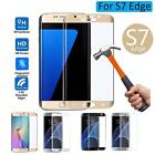 3D Curved Tempered Glass Screen Protector Film For Samsung S7 Edge 1pc