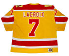 ANDRE LACROIX Philadelphia Blazers 1973 WHA Vintage Throwback Hockey Jersey