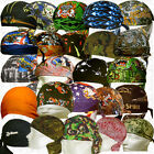 SweatBand Head Do Lot Doo Rag Du Skull Biker Cap Wear Hat Paisley Seek Bandana