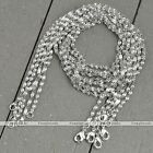 5x Lot Silvery White Gold Plated Water Wave Chain Link Necklace Fit Jewelry Gift