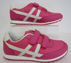 ******SALE*****Girls pink/white velcro  trainers.H2276.
