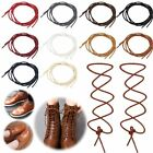 Cotton Waxed Round Shoe Laces Shoelaces Leather Boot Brogues Bootlaces Strings