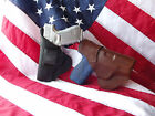 J&J CUSTOM FIT RUGER LCR 357 MAG W  LASERMAX LASER IWB LEATHER CARRY HOLSTER