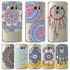 Ombre Indian Mandala TPU Case Cover For Samsung S6 S7 edge plus S5 Clear Soft