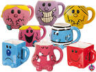 NEW RETRO MR MEN LITTLE MISS CHARACTER SHAPED TEA COFFEE MUG CUP