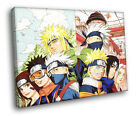 Minato Kakashi Obito Rin Anime Art FRAMED CANVAS Print