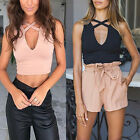 Sexy Fashion Summer Vest Top Sleeveless Women Blouse Casual Tank Tops T Shirt AY