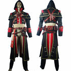 AC Rogue Shay Patrick Cormac Suit Outfit Halloween Comic-con Cosplay Costume