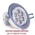 Downlight led 7w, foco led, luces de techo, empotrables, lámpara techo, focos