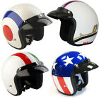 VIPER RS-04 OPEN FACE SCOOTER MOTORCYCLE RETRO HELMET MOD TARGET UNION DIXIE