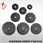 40KG CAST IRON WEIGHT PLATE SET - ENERGETICS WEIGHT PLATES SET - HOME GYM