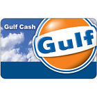 $10 / $25 / $50 Gulf Gas Physical Gift Card - Standard 1st Class Mail Delivery For Sale