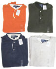 $98 Polo Ralph Lauren Mens Thermal Lined Crew Button LS SLim Shirt Sweater New