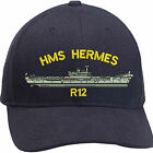 HMS Hermes Embroidered Baseball Caps & Beanies