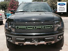 FORD RAPTOR SVT F-150 GRILLE LETTERS W/ OUTLINES STICKERS VINYL DECALS 2012 2013