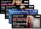PERSONALISED EVENT TICKETS /  numbered & perforated ANY DESIGN