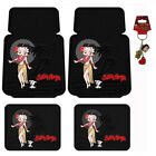 New Betty Boop Hawaiian Style Car Truck SUV Front Rear Back Rubber Floor Mats $31.88 USD on eBay