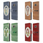 HEAD CASE DESIGNS CHRISTMAS ANGELS LEATHER BOOK CASE FOR SAMSUNG GALAXY S7
