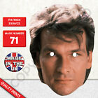 New Patrick Swayze Modern Celebrity Card Mask - Fun For Parties