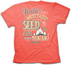 Womens Christian T-Shirt  Mustard Seed Cherished Girl by Kerusso BRAND-NEW