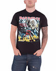 Iron Maiden T shirt official book of souls trooper killers tour band logo mens