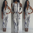 Women Sexy Celeb Slim Playsuit Party Evening Summer Ladies Long Jumpsuit 521011V