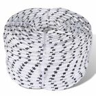 New 6/8/10/12/14mm x 50m Polyester Braided Core Rope Coil Boat Dock Line