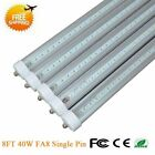 Single Pin 8FT 40W 6500K FA8 T12 T8 Fluorescent Replacement LED Tube Light Lamp