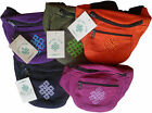 FAIR TRADE COTTON GHERI SHRIVASTA UTILITY MONEY BELT BUM BAG TRAVEL WALLET