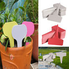 Waterproof Plastic Plant T-type Tags Markers Nursery Garden Label 6x10cm